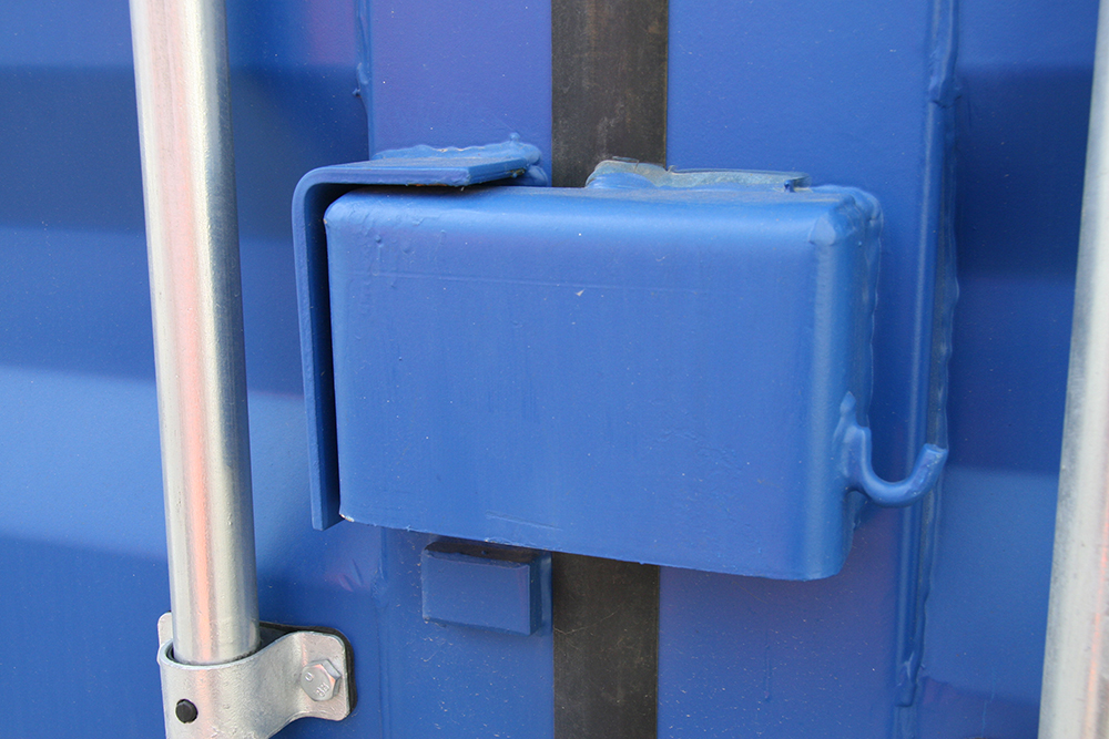 20ft shipping containers lock security