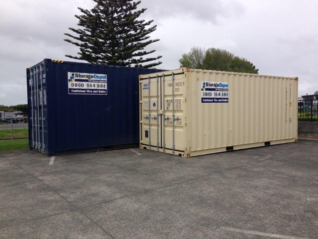 Shipping Containers For Sale Auckland And Nz Storage Depot