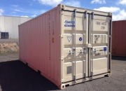 20ft container beige