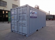 20ft shipping container grey