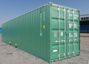 40ft shipping container high cube green