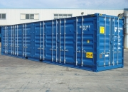 40ft shipping container high cube open sider