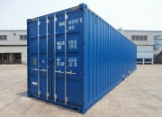 40ft shipping container high cube blue