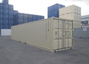 40ft shipping container beige
