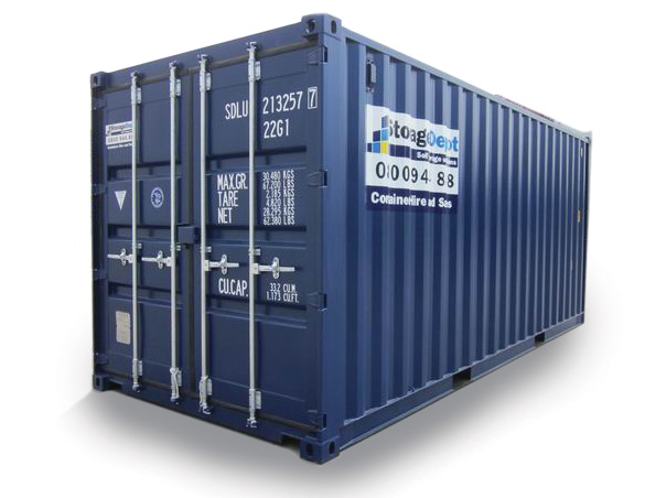 20ft Shipping Container Storage Depot