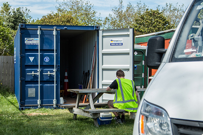 Shipping Container Hire Waikato Storage Depot