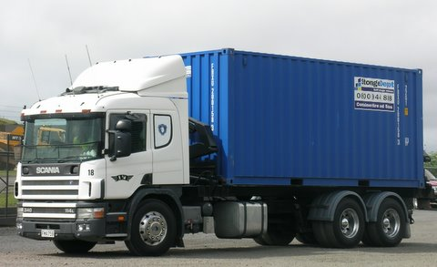 Container On Truck Storage Depot