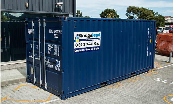 Shipping Container Hire Tauranga Storage Depot