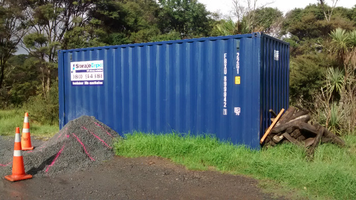shipping containers for hire auckland