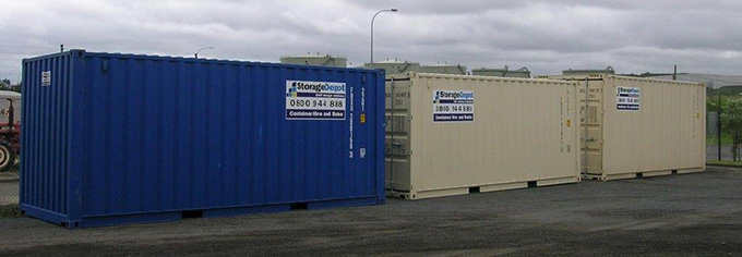 shipping containers for hire retail storage